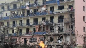 """""""Die Russen bombardieren ganz normale Wohnhäuser"""""""