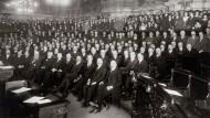 Oktober 1918: Im niederösterreichischen Landtag.