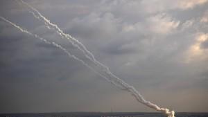 Israels Luftwaffe beschießt Hamas-Ziele