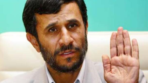 Ahmadineschad droht Jerusalem