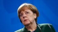 Bundeskanzlerin Angela Merkel sagte, der Kampf gegen den Terror rechtfertige das Trump-Dekret zum Einreisestopp für Muslime nicht.