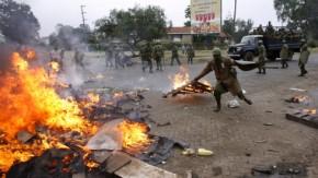 Dutzende Tote bei Unruhen in Kenia