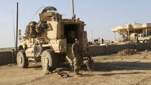 Raketen in von Nato genutzter Militärbasis eingeschlagen