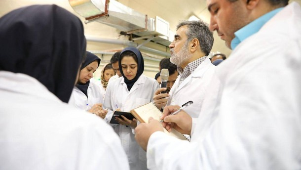 Iran erhöht Urananreicherung