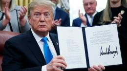 Trump unterzeichnet Dekret für Armee im All