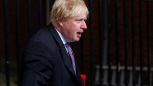 Johnson vergleicht Mays Brexitplan mit Sprengstoffweste