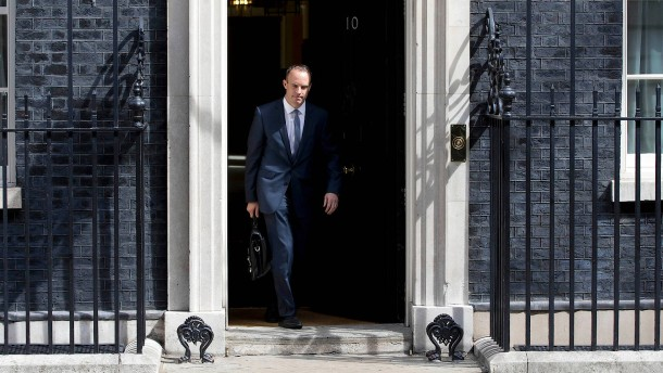 Dominic Raab wird Brexit-Minister