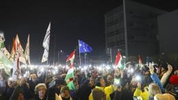 "Proteste in Ungarn sind ""bedeutungslos"""