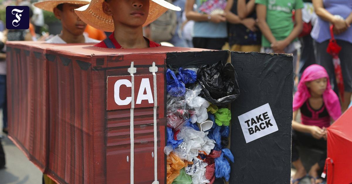 Müllstreit mit Kanada: Philippinen rufen Botschafter zurück