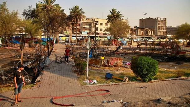 Zwei Tote bei Demonstrationen im Irak