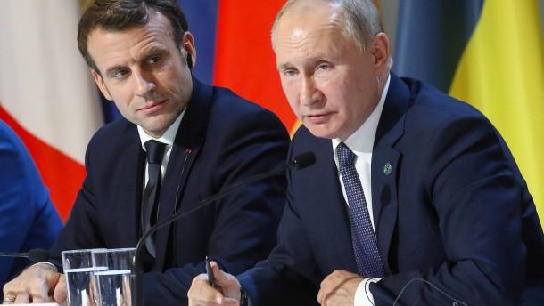 Macron und Putin planen neuen Ukraine-Gipfel