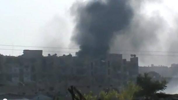 200.000 Zivilisten aus Aleppo geflohen