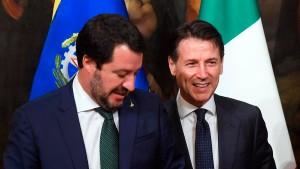 Geräuschvolle Politik in Italien