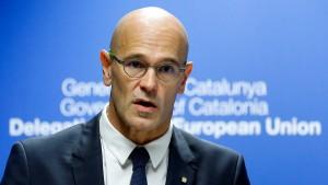 Katalanischer Minister appelliert an Brüssel
