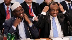 Neue Hilfszusagen auf Somalia-Konferenz