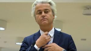 Gericht verurteilt Wilders wegen Diskriminierung
