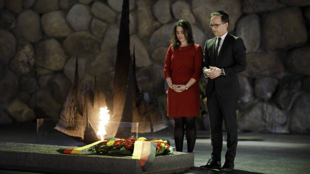 Ayelet Shaked und Heiko Maas: Maas und seine israelische Freundin