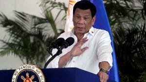 Auf der Abschussliste Dutertes
