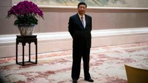 An Chinas Spitze wird es einsam