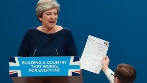 Da ist der Brexit dann ein Klacks