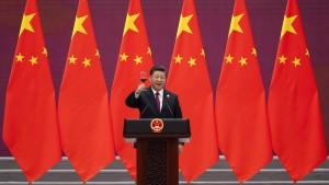 Wohlfeile Worte in Peking