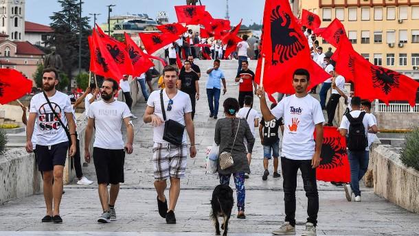 Zaevs albanisches Problem