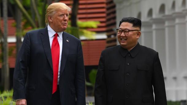 Kim bekräftigt Wunsch nach zweitem Treffen mit Trump