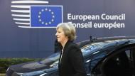 Beim EU-Gipfel in Brüssel ist auch sie ein Thema: Theresa May und die Brexit-Pläne der britischen Regierung.