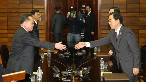 Nord- und Südkorea einigen sich auf Treffen am 27. April