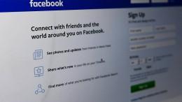 Facebook schaltet hunderte amerikanische Konten und Seiten ab