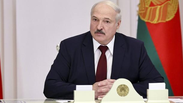 EU bringt Sanktionen gegen Lukaschenka auf den Weg