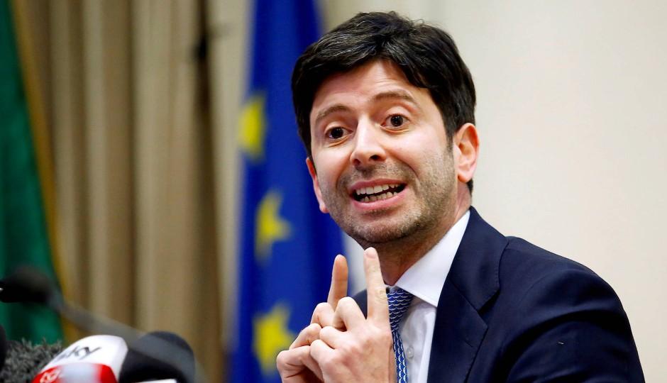 Der italienische Gesundheitsminister Roberto Speranza im Februar 2020 in Rom
