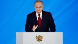 Putin will Referendum über Verfassungsänderungen