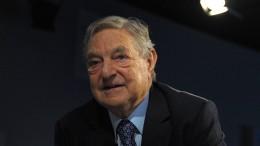 Sprengsatz in Briefkasten von George Soros