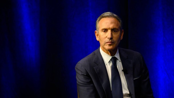 Wie gefährlich wird Howard Schultz Amerikas Demokraten?