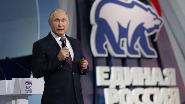 Putin ruft zur Erneuerung des Landes auf