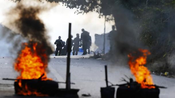 Aufgeheizte Stimmung vor Anti-Maduro-Protesten