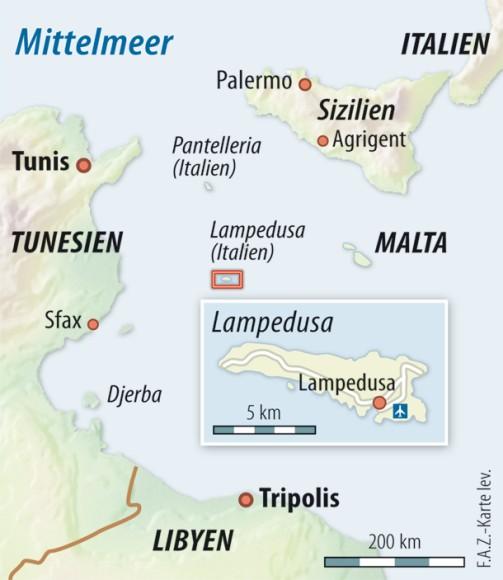 Italien Karte Lampedusa.Bilderstrecke Zu Papst Vor Lampedusa Wo Ist Dein Bruder