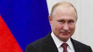 Stimmungstest für Putin
