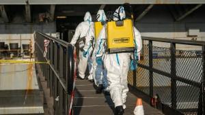 Corona-Fälle auf dem Flugzeugträger vertuscht?
