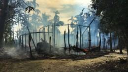 Verbrannte Erde im Land der Rohingya