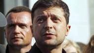 Der neue ukrainische Präsident Wolodymyr Selenskyj sieht sich vielfältigen Herausforderungen gegenüber.