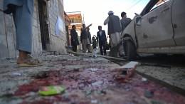 Tote bei Anschlag auf Wähler