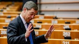 Farage verlässt Britische Unabhängigkeitspartei