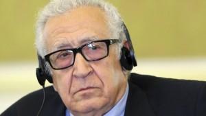 Brahimi am Montag in Damaskus erwartet
