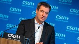 Söder will Bayern schon bis 2040 klimaneutral machen