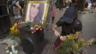 Bei Solidaritätsdemonstrationen wie hier in Atlanta wird der getöteten Heather Heyer gedacht.