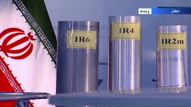 Iran wird Atomabkommen brechen