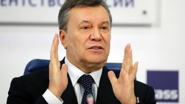 Viktor Janukowitsch wegen Hochverrats verurteilt