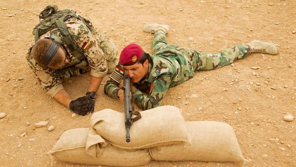 Bundeswehr setzt Ausbildung im Irak fort